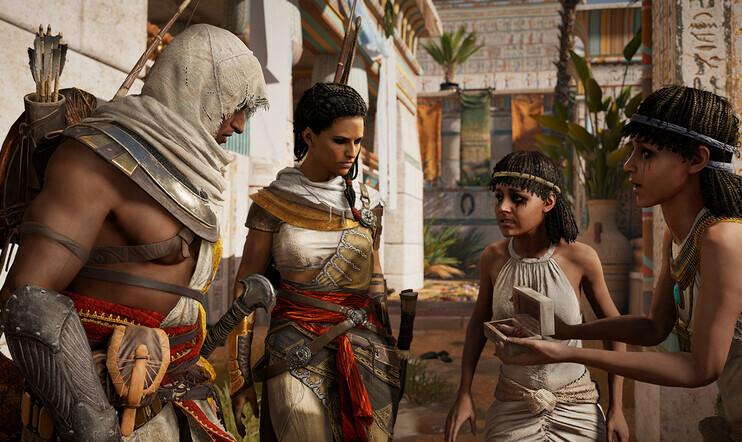 Tiesitkö? Ubisoftilla pidettiin Egyptiä huonona vaihtoehtona Assassin's Creedille