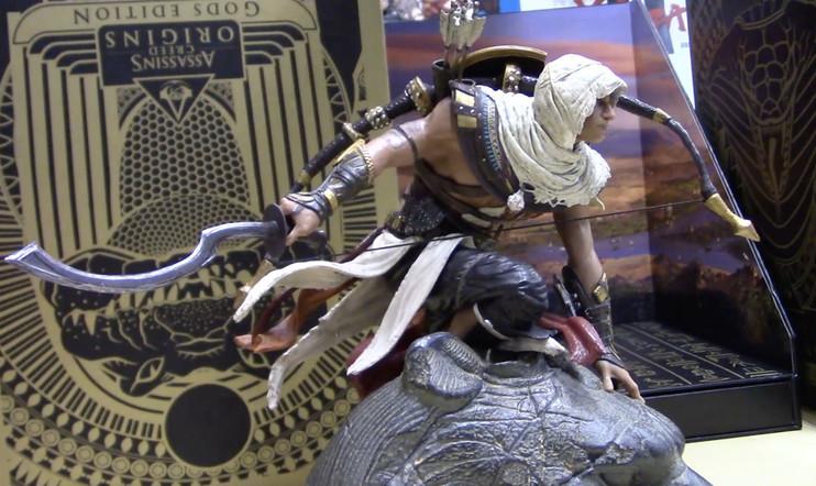 Avataan laatikko: Assassin's Creed Originsin järkälemäinen Gods Edition -keräilyversio!