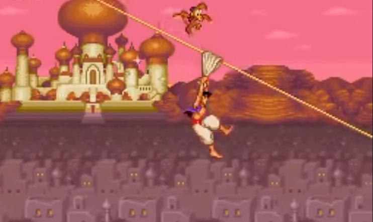 Tiesitkö? Shinji Mikami suunnitteli SNES-kulttipeli Aladdinin