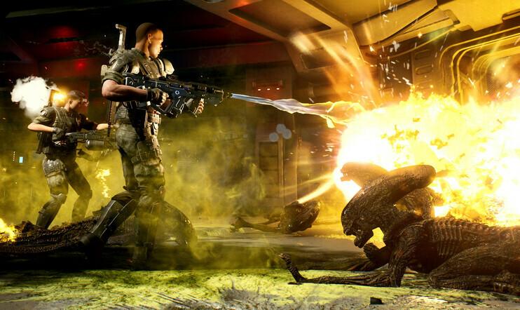 Lukijat ovat puhuneet: Aliens-pelien tulisi olla räiskintää ja hiiviskelyä