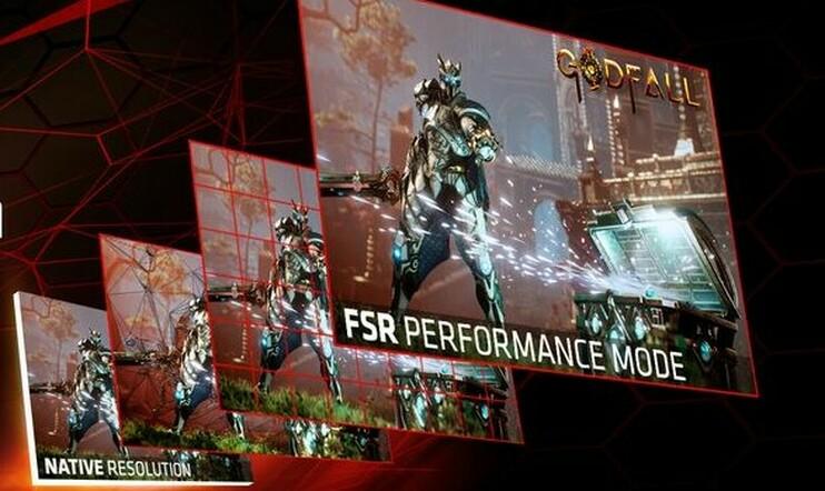 Nvidia, AMD, FidelityFX, super resolution, Xbox Series, PS5