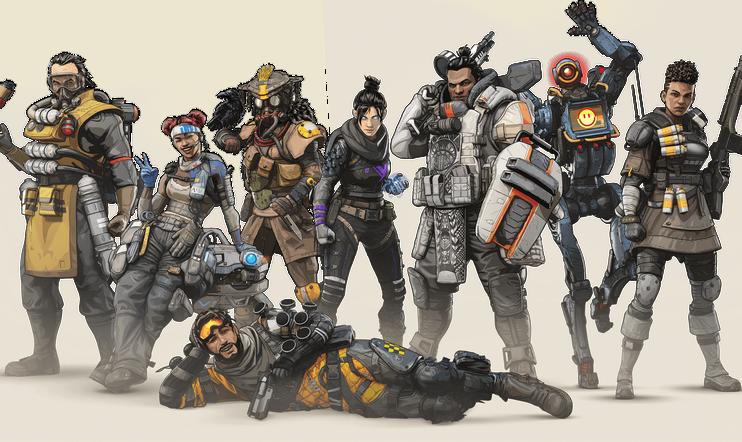 Apex Legends, datalouhinta, titaani, titanfall, blisk, hahmo