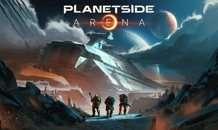 PlanetSide, PlanetSide Arena, Daybreak Game Company, Daybreak, fps, verkkopeli
