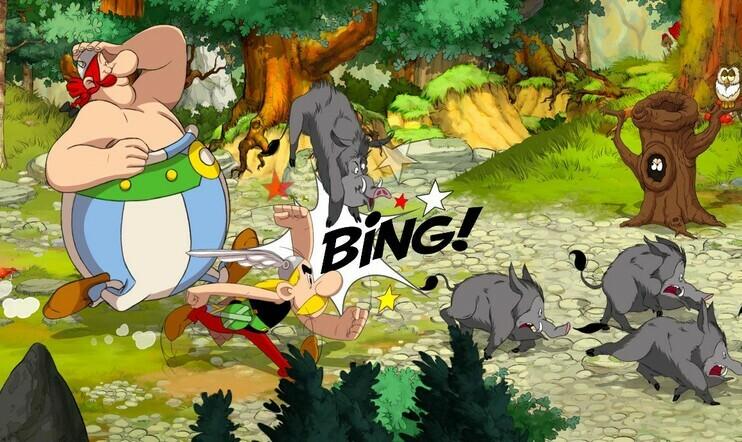 Asterix & Obelix: Slap Them All!, Asterix & Obelix, Slap Them All!, Asterix ja Obelix, Asterix, Obelix, Microids,