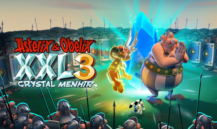 Asterix & Obelix XXL3, Asterix & Obelix, XXL3, Micrroids, The Crystal Menhir, julkaisupäivä, Osome Studio, 21. marraskuuta