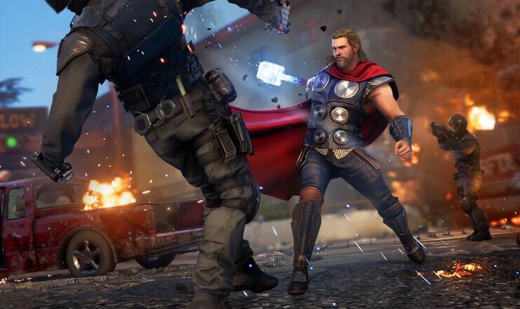 Marvel's Avengers, Square Enix, Crystal Dynamics, Yosuke Matsuda
