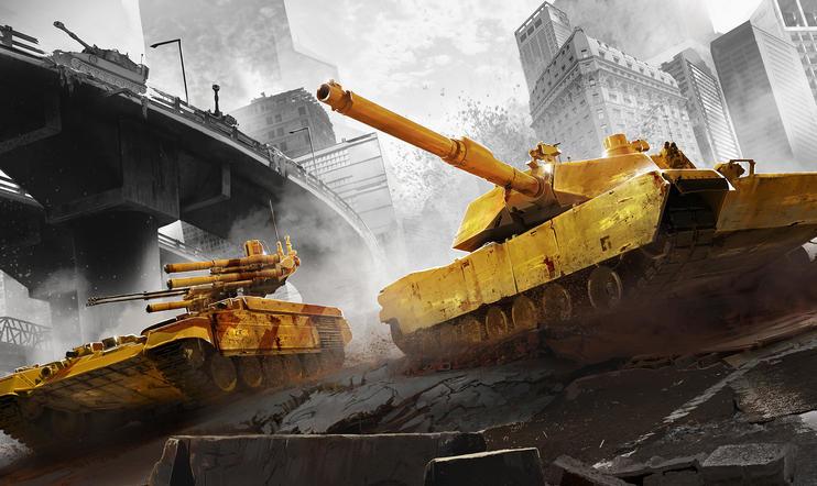 Armored Warfare -ennakko