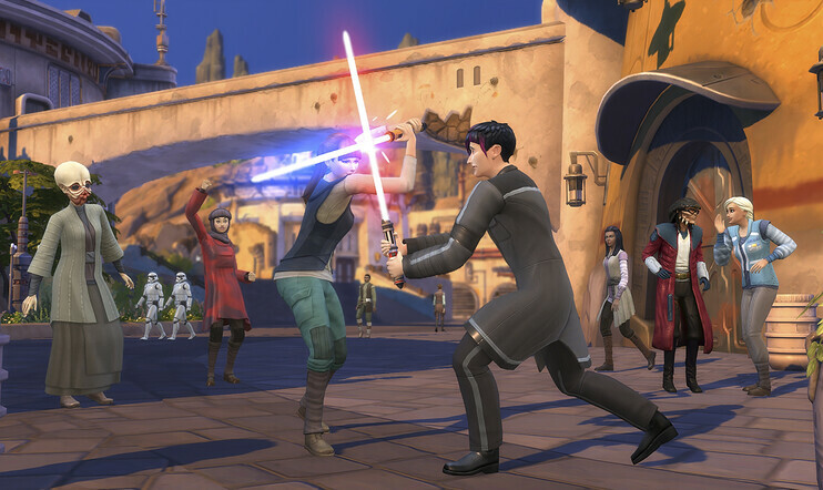 The Sims 4 Star Wars: Journey to Batuu, The Sims 4, EA
