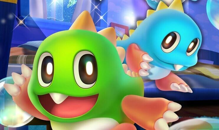Bubble Bobble, Bubble Bobble 4 Friends, Taito, Taito Corporation, Switch, julkaisupäivä, 19. marraskuuta, klassikko,