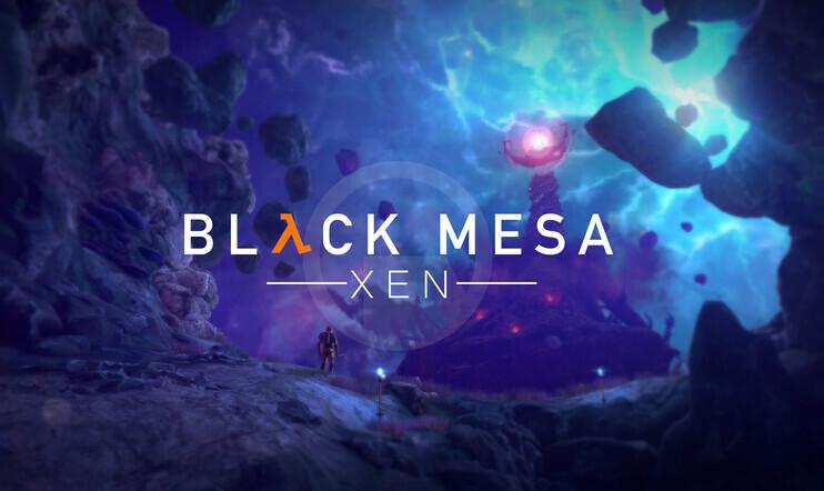 Black Mesa: Xen, Xen, Black Mesa, Half-Life, Crowbar Collective, fani, fanipeli,