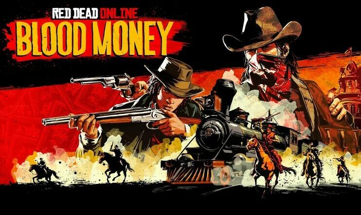 Red Dead Online Blood Money, Rockstar Games
