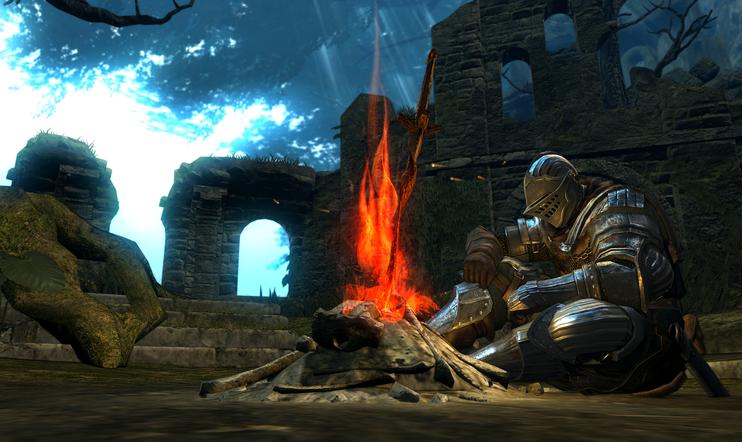 Tiesitkö? Dark Souls 3 leikitteli mahdollisuudella antaa pelaajan tehdä omat nuotionsa