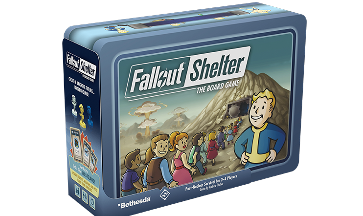 Fallout Shelter, Fallout, Fallout Shelter: The Board Game,
