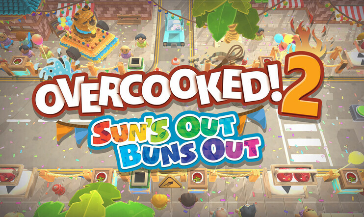 Overcooked 2, Sun's Out Buns Out, Team17, Ghost Town Games, Overcooked