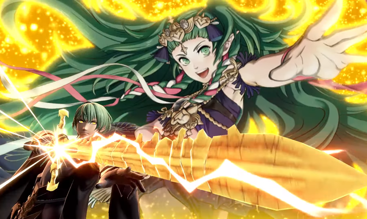 Byleth, Fire Emblem, Fire Emblem: Three Houses, Super Smash Bros., Super Smash Bros. Ultimate