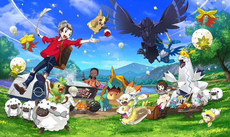 Pokémon, Sword, Shield, Pokémon Camp, camp, curry, Nintendo, Switch, Game Freak