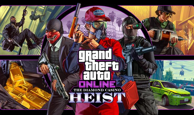 GTA Online, GTA, GTA V, Grand Theft Auto, Grand Theft Auto Online, heist, ryöstö, The Diamond Casino Heist, Rockstar Games,