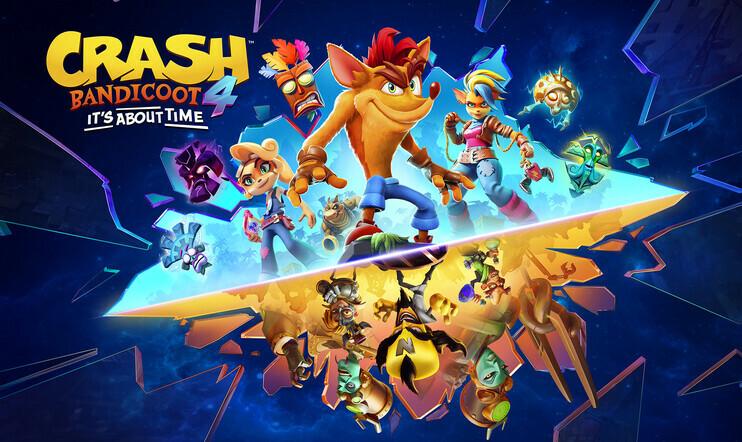 Crash Bandicoot 4, Crash Bandicoot, It's about time, next-gen, Activision, Toys for bob