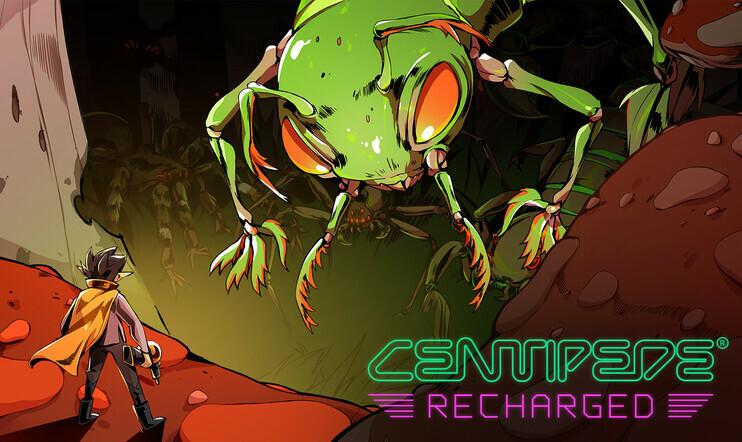 Centipede: Recharged, Centipede, Atari, Adam Nickerson, uusioversio