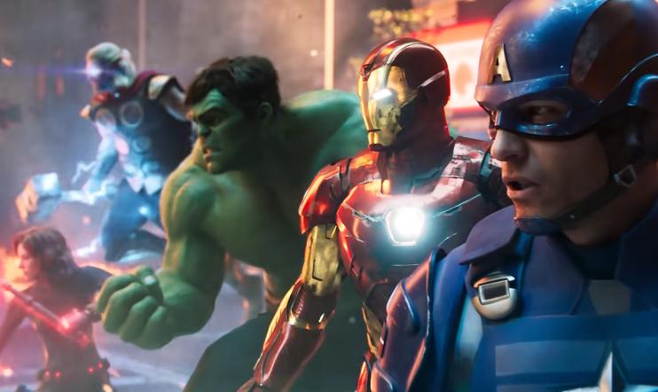 Marvel's Avengers, Crystal Dynamics, Eidos Montreal, Square Enix, level up, XP, kokemuspiste,