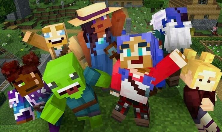 Minecraft, hahmoluonti, Mojang, Microsoft, Minecraft Earth,