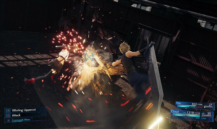 Final Fantasy VII Remake, Final Fantasy VII, final fantasy, Summot, ruutukaappaus, kuva, square enix