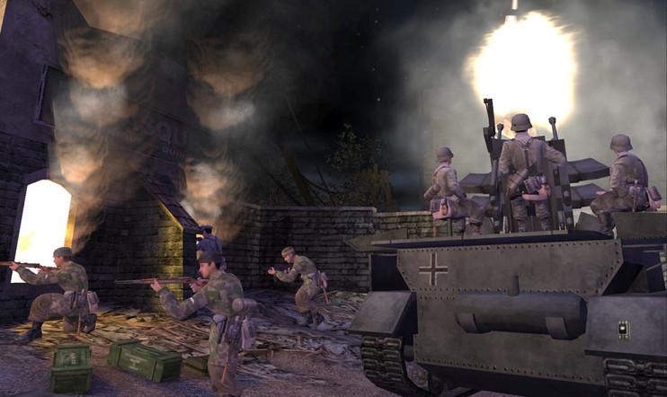 Retrostelussa Call of Duty