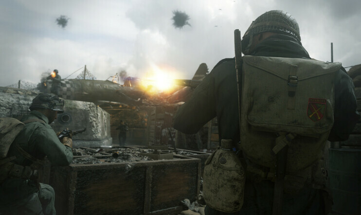 Warzone, Call of Duty WWII, Sledgehammer Games, Activision,
