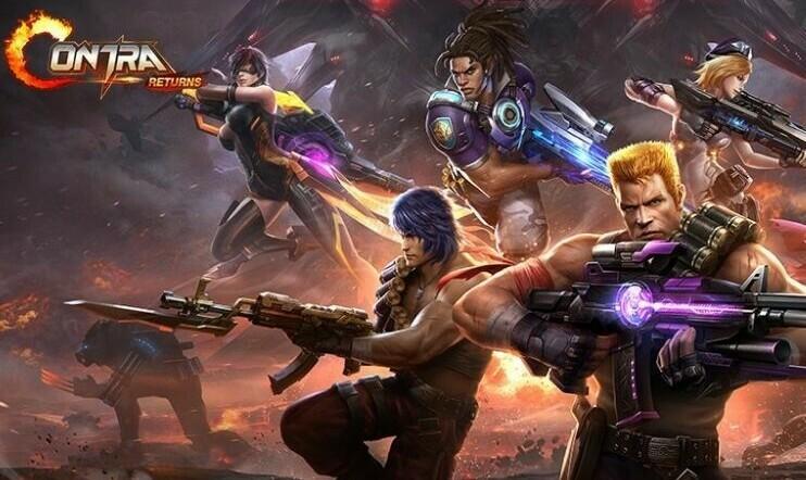 Contra, Contra Returns, Konami, Timi Studios,