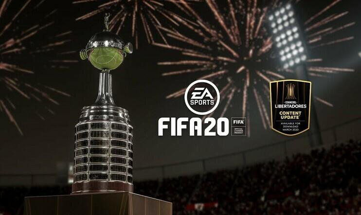 Copa Libertadores, Electronic Arts, Sudamericana, Recopa, CONMEBOL, FIFA, FIFA 20, jalkapallo, urheilu, futis