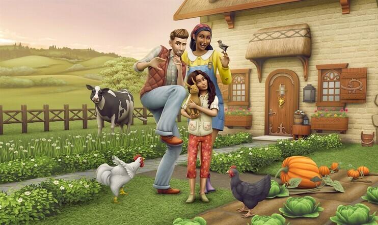 The Sims, The Sims 4, Maalaiselämää, Cottage Life, Maxis, EA,