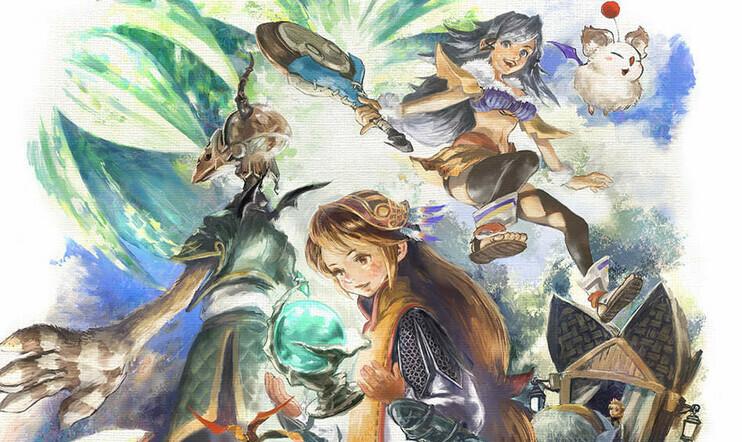 Final Fantasy Crystal Chronicles Remastered Edition, Final Fantasy Crystal Chronicles, Square Enix, julkaisupäivä, remaster