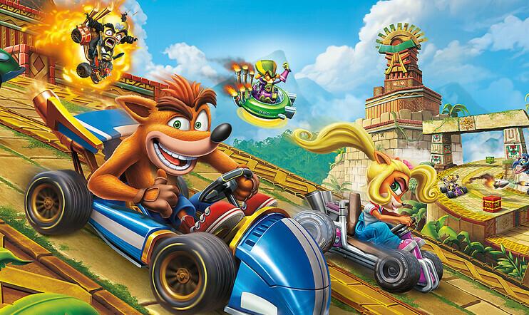 Tiesitkö? Crash Team Racing ei alussa ollut Crash-peli