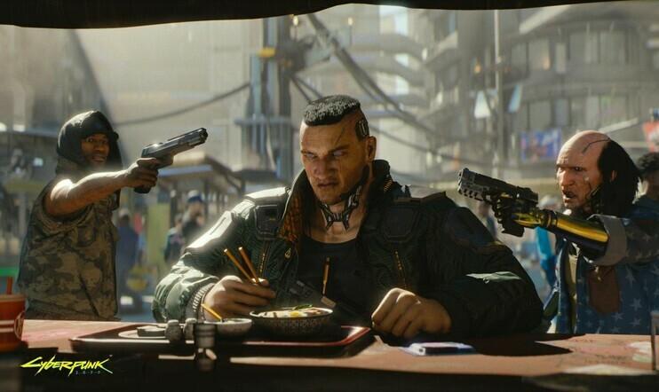 Cyberpunk 2077, PS4, Xbox One, CD Projekt Red, bugi, ongelma