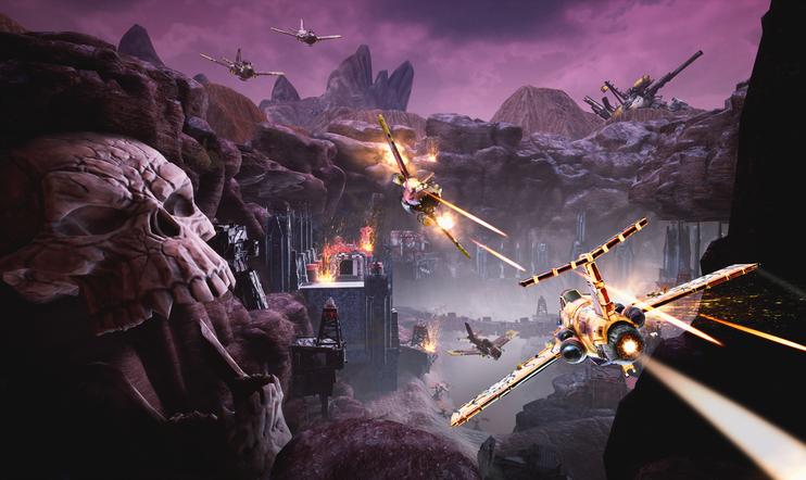 Warhammer, Warhammer 40 000, lento, lentopeli, Dakka Squar, Phosphor Games Studio
