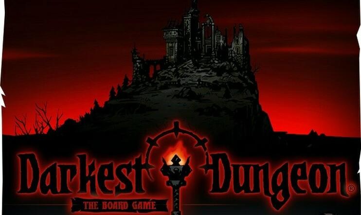 Darkest Dungeon, lautapeli, kickstarter, joukkorahoitus