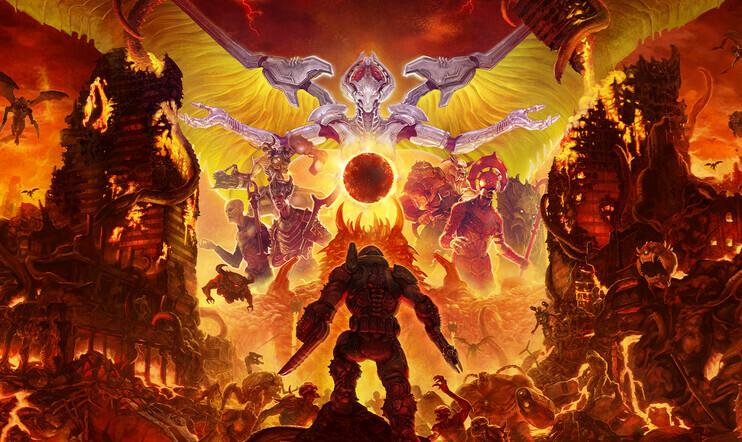 Valmistaudu helvetilliseen räiskintään: Doom Eternal saapuu marraskuussa!