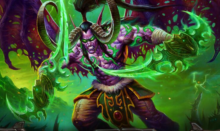 Demon Hunter, Hearthstone, Blizzard, Blizzard Entertainment, korttipeli, Ashes of Outland