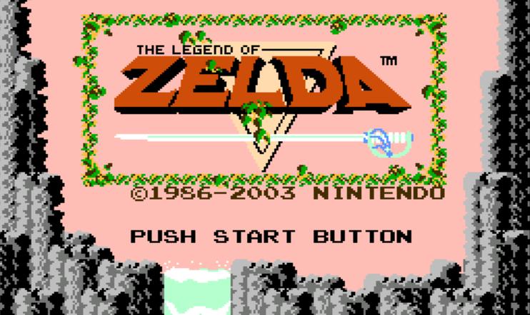 Retrostelussa The Legend of Zelda