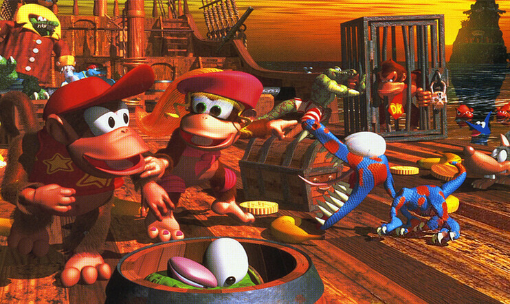 Nintendo Switch Online, nintendo, retro, Switch, Donkey Kong Country 2, Diddy's Kong Quest, SCAT, Piccross, Mario's Super Picross