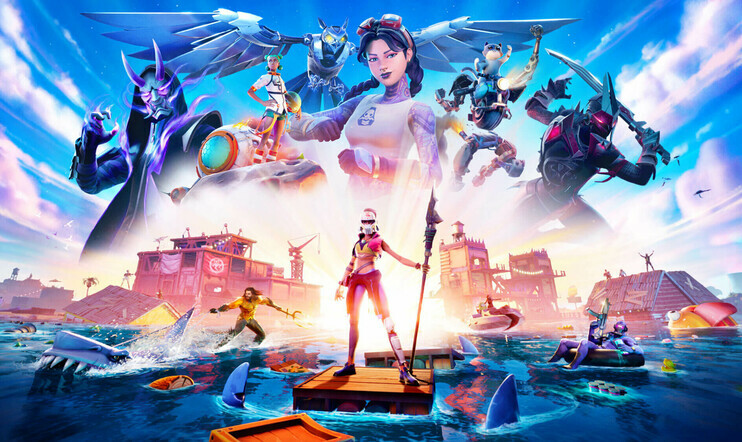 Fortnite, Chapter 2, Season 3, Dive In, epic games