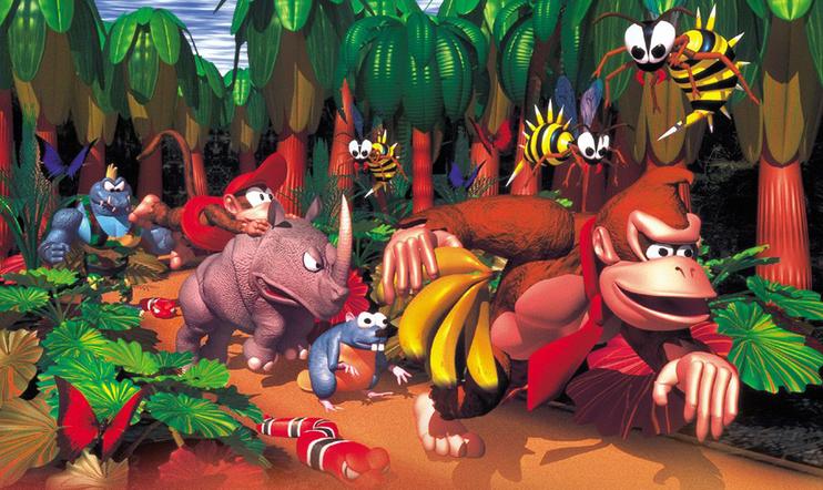 Donkey Kong, Donkey Kong Country, Nintendo, Nintendo Switch Online, The Immortal, Natsume Championship Wrestling