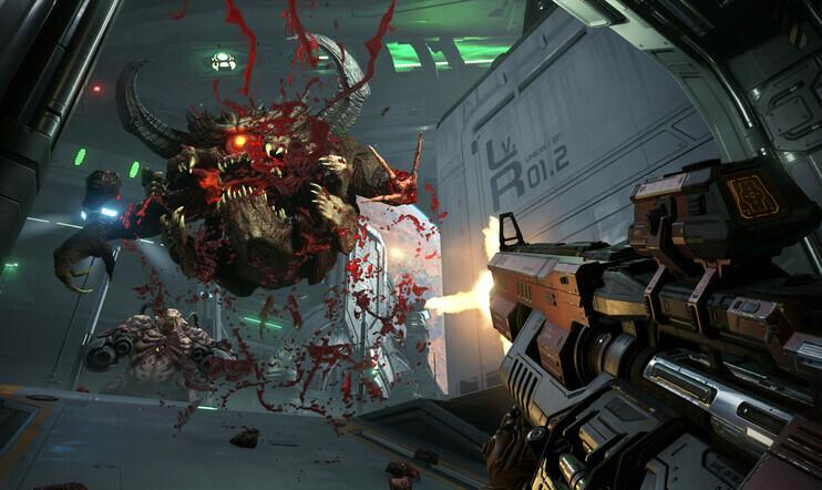 Doom Eternal, Doom, Invasion, id Software, 20. maaliskuuta, 2020, FPS,