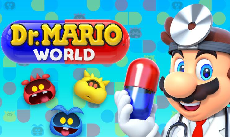 nintendo, mobiili, pulma, Dr. Mario World, Dr. Mario