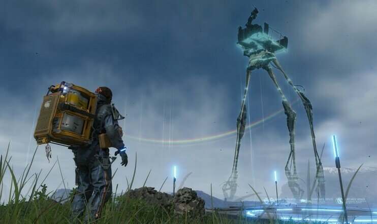 Death Stranding, 505 Games, Kojima Productions, Half-Life, PS4, Decima,