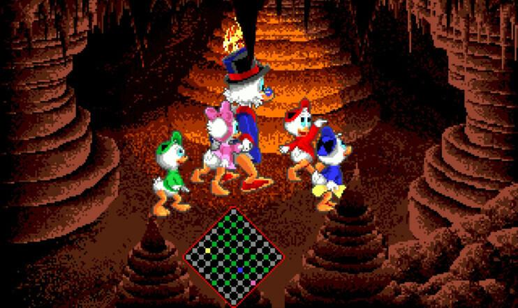 Retrostelussa DuckTales: The Quest for Gold – kotitietokoneiden ankkapeli, joka oli tekninen painajainen