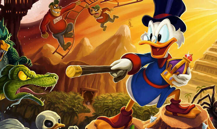 ducktales remastered, DuckTales, Capcom, Wayforward, Disney, Ankronikka