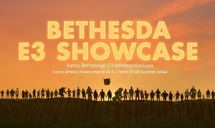 Suora E3 2019 -lähetys: Bethesdan E3-lehdistötilaisuus – Uutta Doomia ja Wolfensteinia