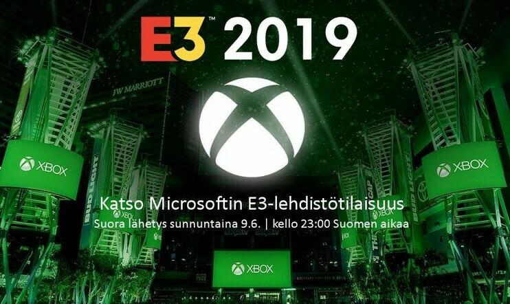 Suora E3 2019 -lähetys: Microsoftin E3-lehdistötilaisuus