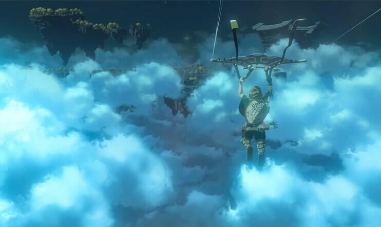 Viimeinkin sitä The Legend of Zelda: Breath of the Wild 2 -pelikuvaa – seikkailu suuntaa taivaalle ensi vuonna